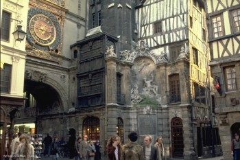 ROUEN LE GROS HORLOGE